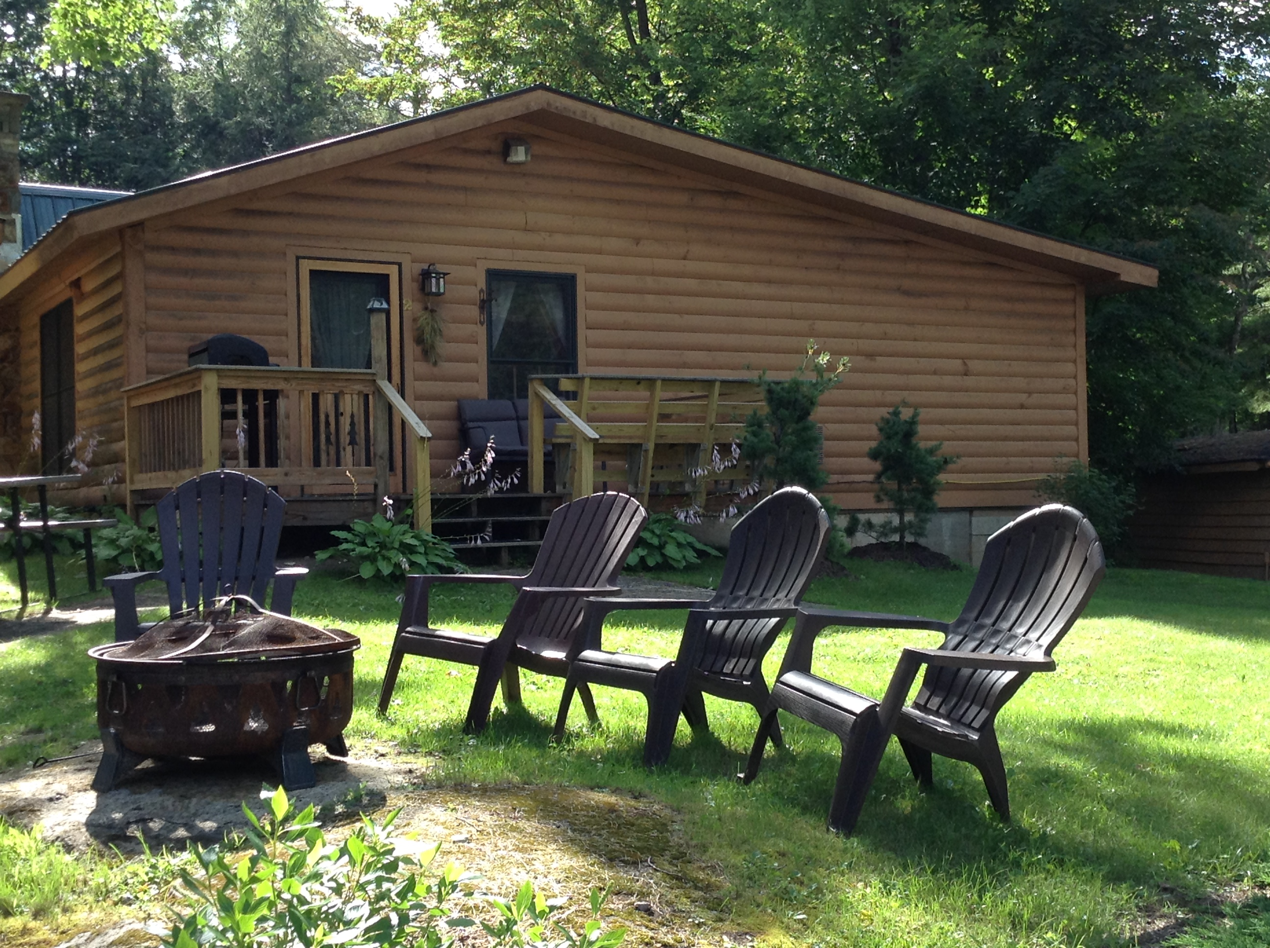 in cabins rentals mountain rent a vacation ny cabin pocono arrowhead